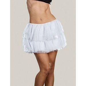 Dreamgirl Ruffled Up Petticoat - white
